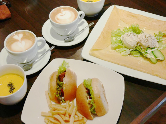cafe de 心粋