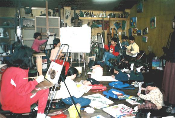アトリエ・タキ絵画教室 児童の部(5才~中学生)
