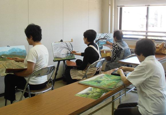 絵画教室 豆の木会