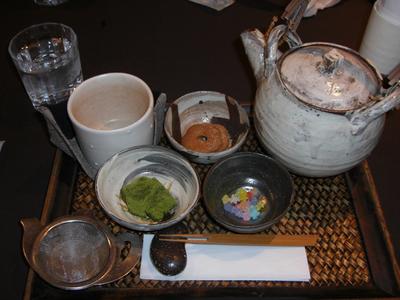 番茶セット~本日のおすすめ~