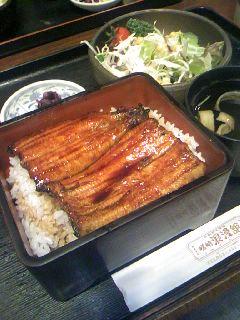 29 浜松昼食(うなぎ定食)