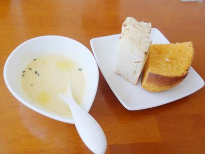 スープ-パン